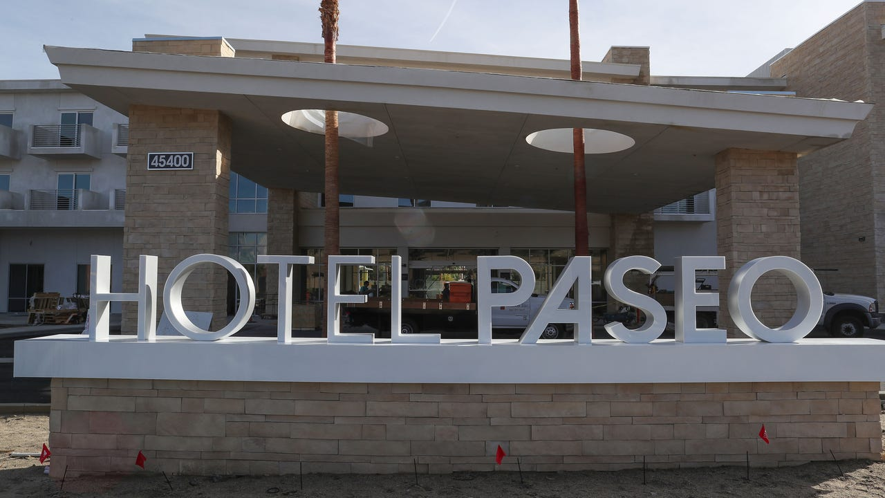 Hotel Paseo in Palm Desert is expected to open in February 2018.