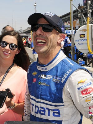 FILE – Tony Kanaan has started more consecutive IndyCar races than anyone in the series' history.