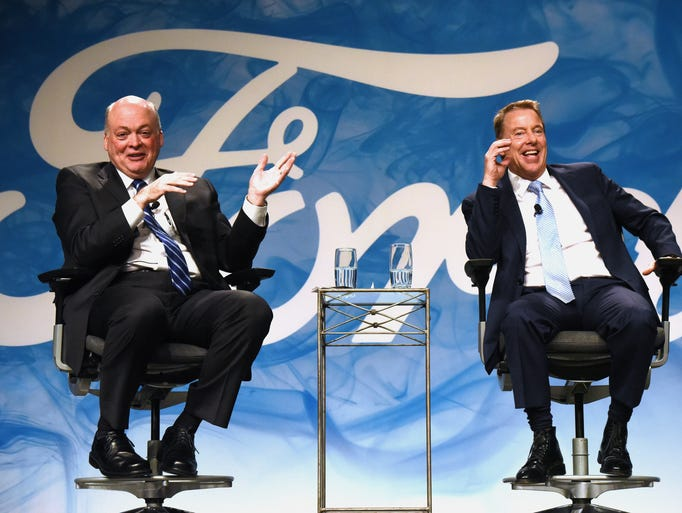 Newly appointed Ford President and CEO Jim Hackett,