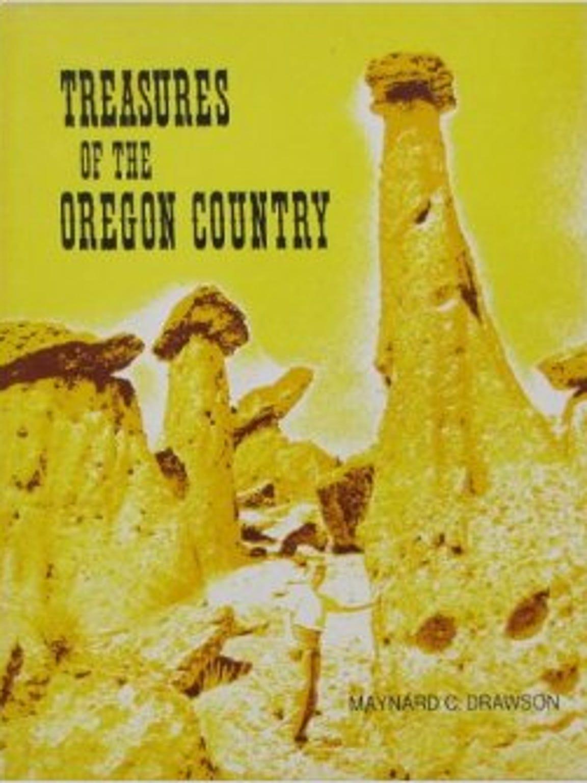 "The first edition of Maynard Drawson's book, ""Treasures"