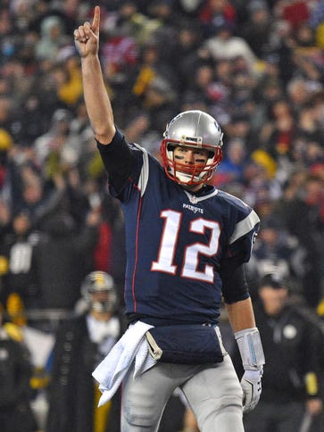 Patriots QB Tom Brady was also voted atop the NFL Network