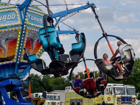 Fayetteville Fireman's Carnival on Tueday, July, 19, 2016 in Fayetteville, Pa.
