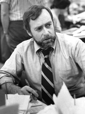 "This image courtesy of The New York Times, shows New York Times correspondent Sydney Schanberg in New York on June 15, 1976.  Schanberg, the Pulitzer Prize-winning correspondent who chronicled the Khmer Rouge's brutal rise to power in Cambodia in the 1970s, died July 9, 2016, at age 82. That gripping account by Schanberg and his story of his Cambodian friend and assistant Dith Pran's captivity under and survival of the Khmer Rouge reign of terror inspired the 1984 film ""The Killing Fields"" by director Roland Joffe. Schanberg had suffered a ""massive heart attack"" Tuesday. He died in Poughkeepsie, New York, said his friend and former colleague at The New York Times, Charles Kaiser."