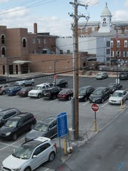 Central parking lot off South Main Street will close