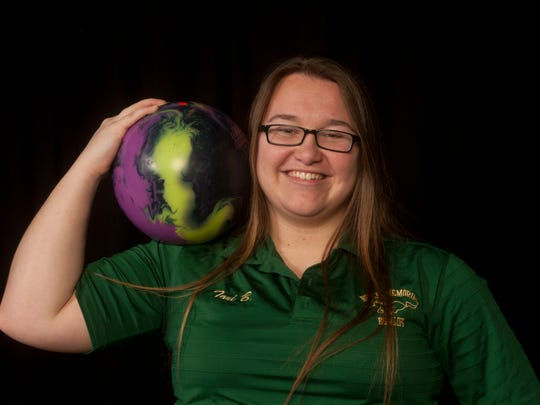 All-Shore Girls Bowler of the Year Tori Boughton of