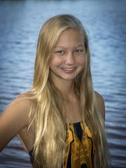 Tomahawk's Kylee Theiler was named the GNC swimmer