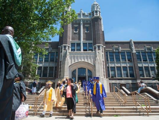 Camden High School's commencement march