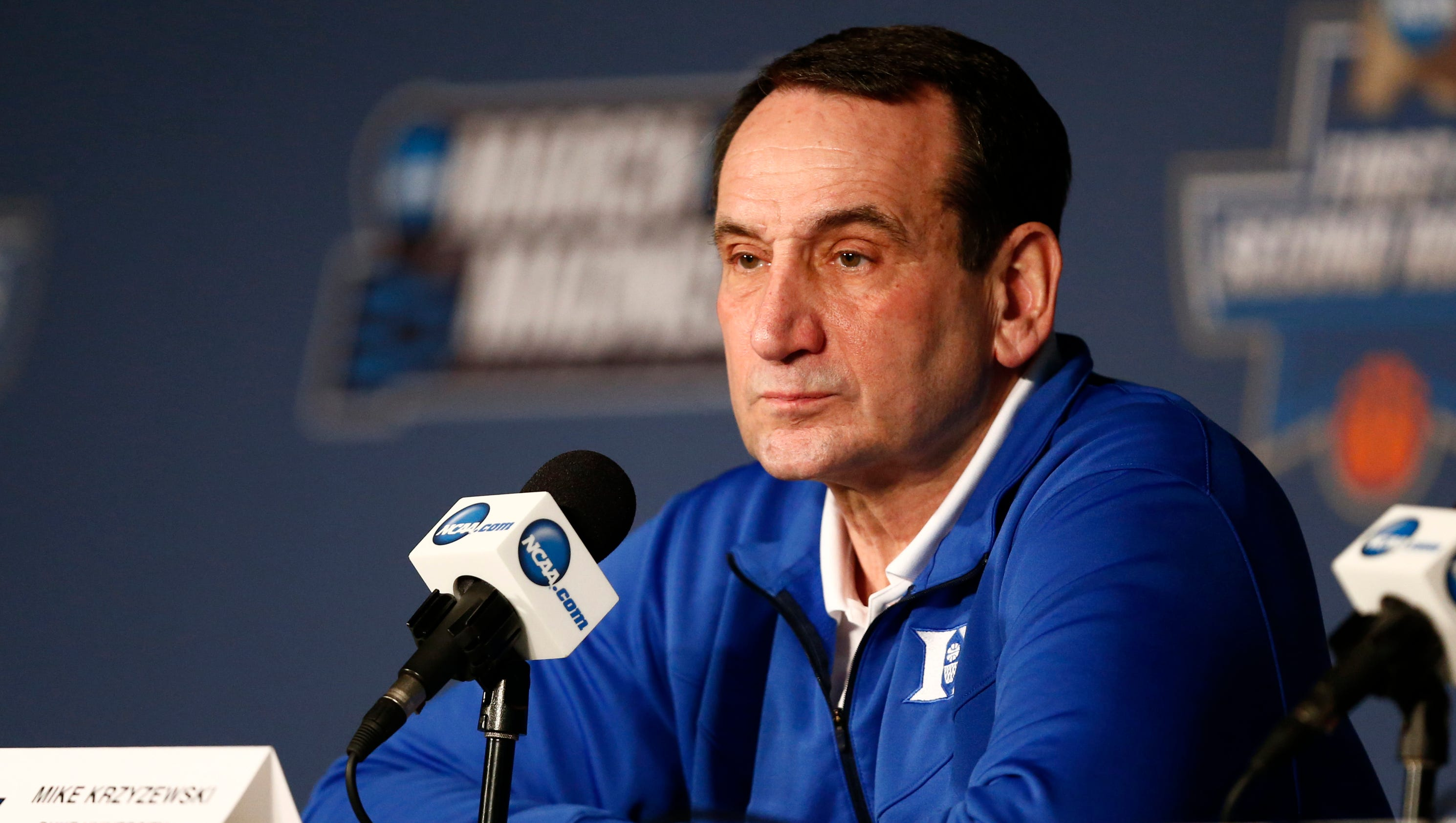 Duke coach Mike Krzyzewski has hernia surgery, still on ...