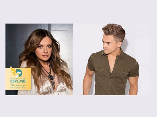Hunter Hayes with Carly Pearce