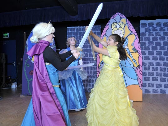 "Tulare Western is putting on their Spring play ""Game of Tiaras."""