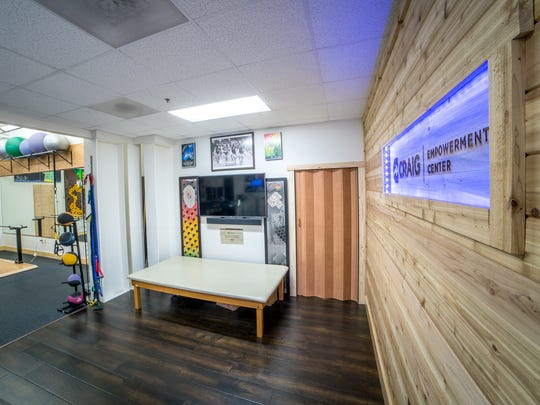 The High Fives Foundation has a 2,800-square-feet C.J. Johnson rehab center in Truckee that gets about 4,000 visits a year.