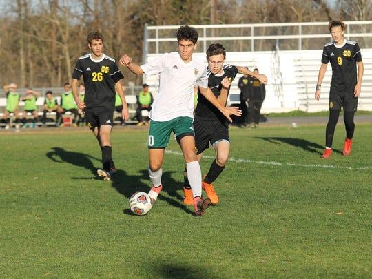 Menard junior Elias Hanna is the All-Cenla boys soccer Overall MVP.