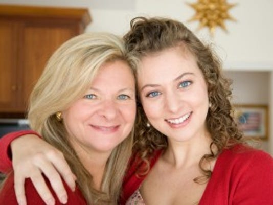 Lisa Scottoline, left, and her daughter, Francesca Serritella. (Photo credit: April Narby)