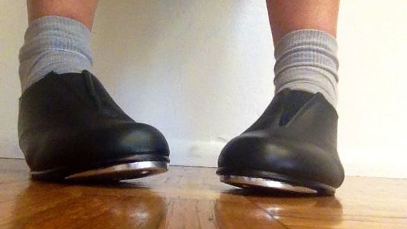 Me in my tap shoes
