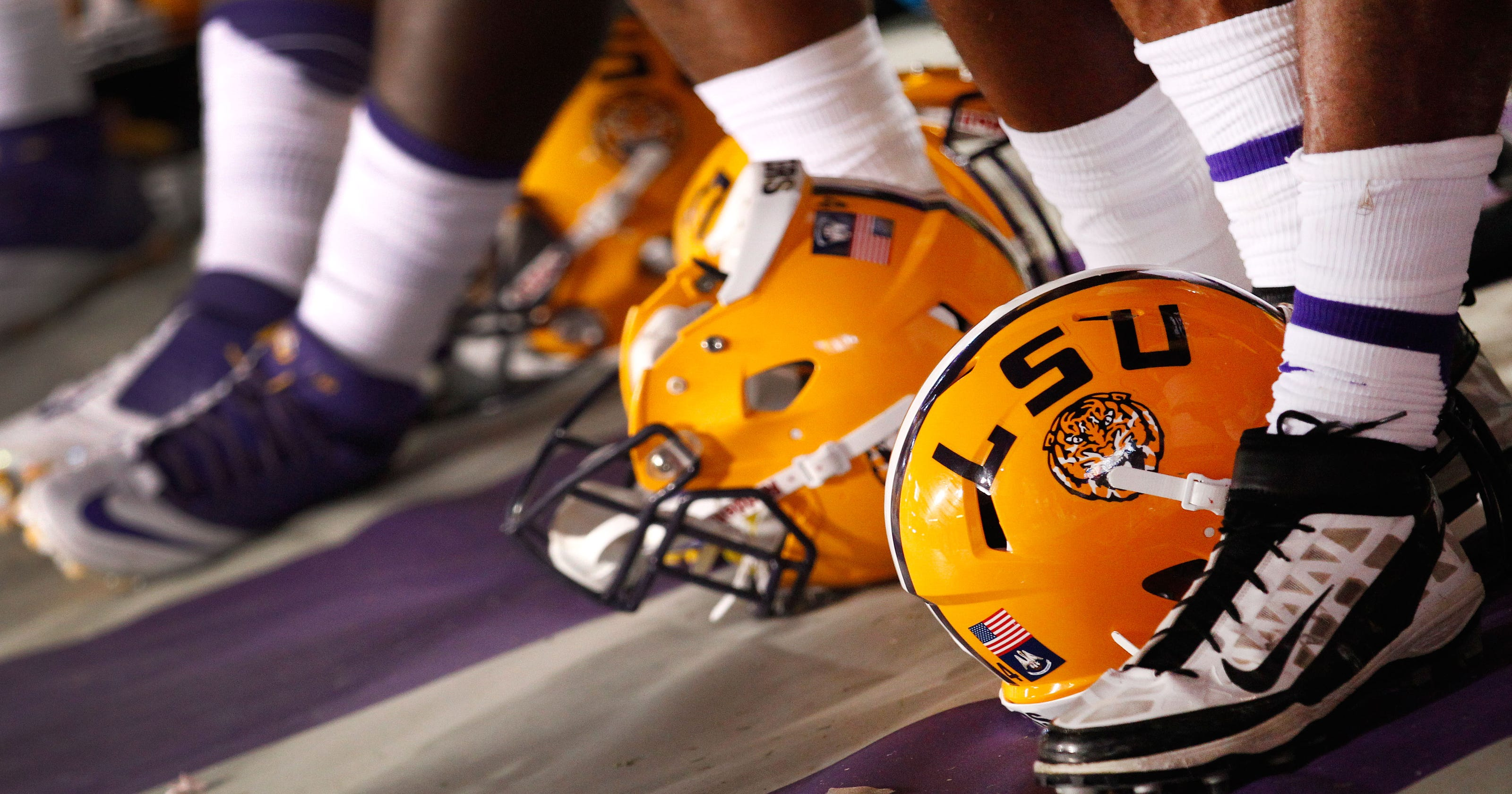 4a2f2179411b Police investigate how LSU football cleats ended up on eBay