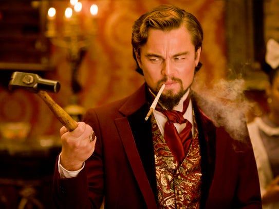 "Leonardo DiCaprio as Calvin Candie in ""Django Unchained,"""
