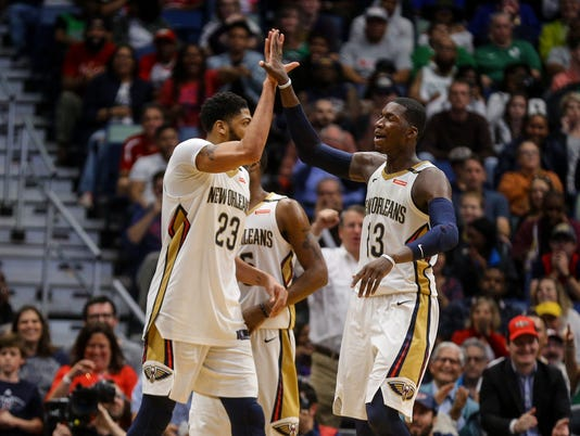 NBA: Boston Celtics at New Orleans Pelicans
