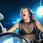 Matt and Kim headline the Boom Boom Tent at Hangout Music Festival Preview Night.
