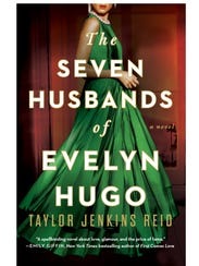 """The book cover for """"The Seven Husbands of Evelyn Hugo"""","""