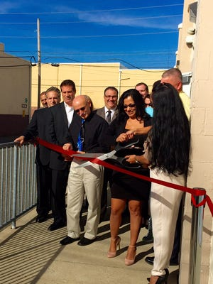 Officials on Monday celebrated the ribbon-cutting ceremony for Nature Labs, a new Vineland cosmetics manufacturer.