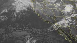 NOAA satellite image taken Monday, Oct. 27.