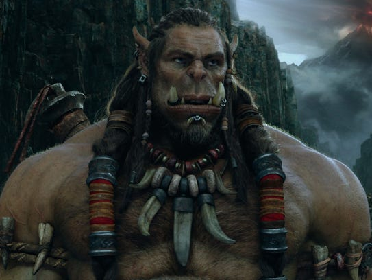 Toby Kebbell stars as the orc Durotan in 'Warcraft.'