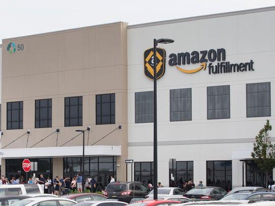 Amazon Fulfillment Center in Robbinsvillve. Amazon