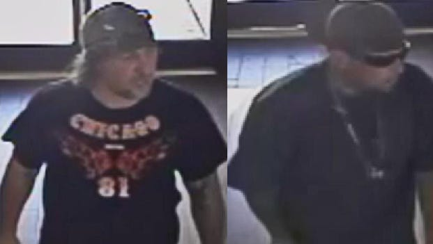 These two men robbed, assaulted another man at a McDonald's near 25th Street and Bell Road in Phoenix during July, according to police.