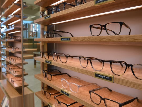 The majority of Warby Parker's eyeglass frames cost