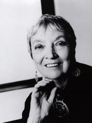 """This undated photo, supplied by Farrar, Straus and Giroux, shows author Madeleine L'Engle, whose novel """"A Wrinkle in Time"""" has been enjoyed by generations of schoolchildren and adults since the 1960s. A film version of """"A Wrinkle in Time,"""" starring Mindy Kaling, Oprah Winfrey, Reese Witherspoon, Zach Galifianakis, Chris Pine and newcomer Storm Reid, opens March 9, 2018."""