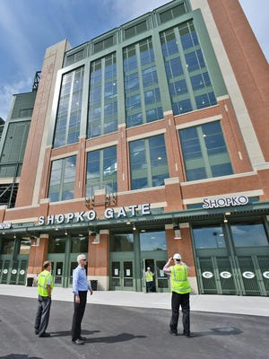 The renovation made Lambeau Field a year-round destination for businesses and fans.