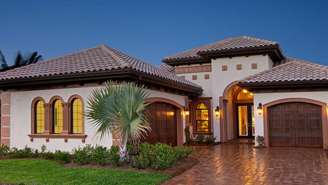 The Jasmine II is one of the new inventory homes at The Renaissance in south Fort Myers.