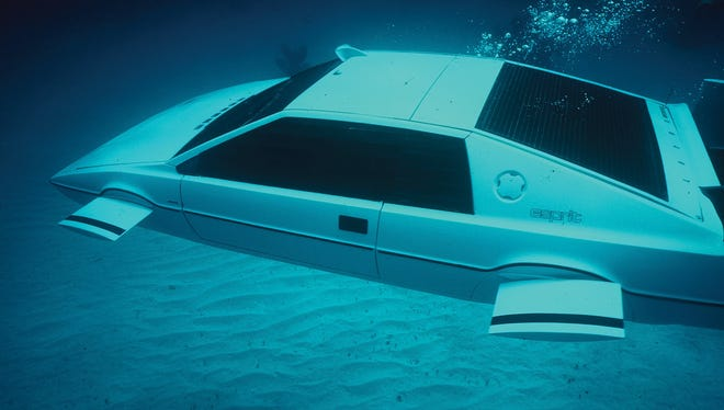 The Lotus Esprit sports car that dives into the water and becomes a submarine in 1977's 'The Spy Who Loved Me,' starring Roger Moore, is coming to auction