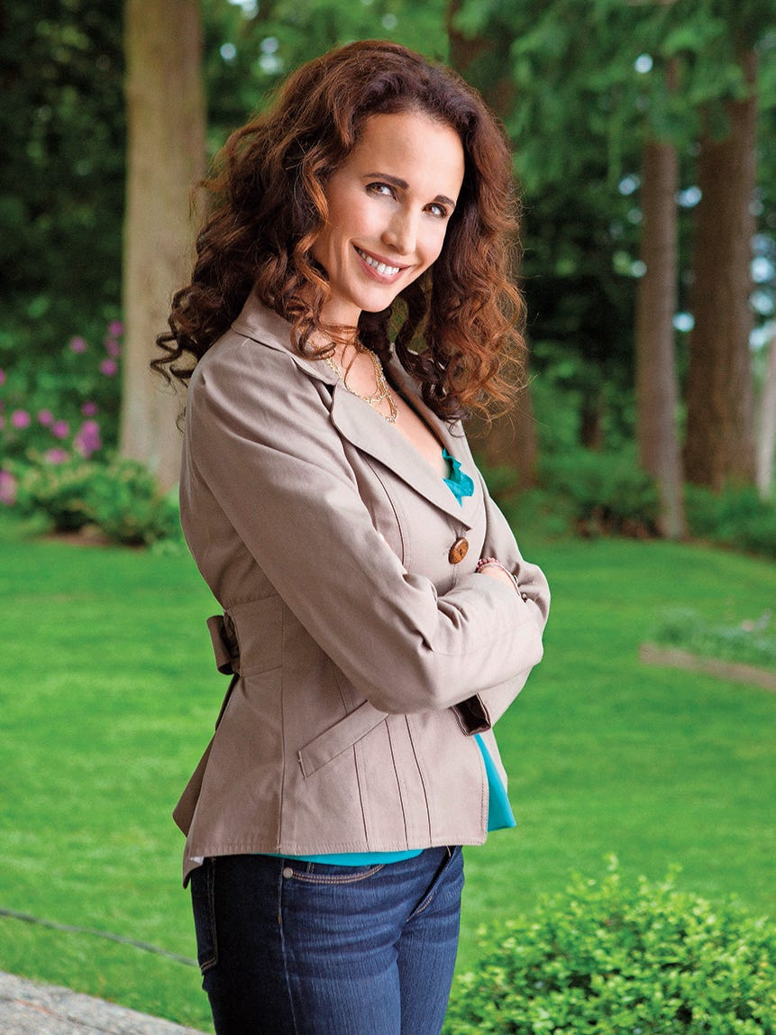 Andie Macdowell Foto andie macdowell makes a move to l.a.