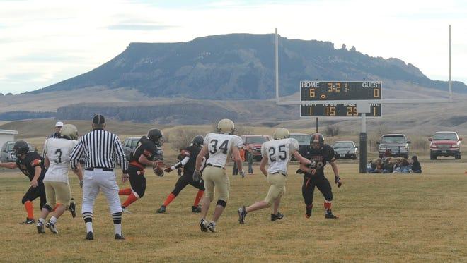 The high school football season is underway in Montana