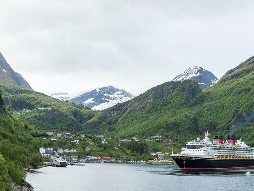 Experience Frozen Fun On Disneys New Norwegian Fjords Cruises - Cruise to norway