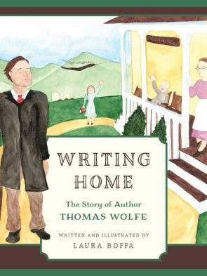 "Laura Boffa will sign copies of her new children's book ""Writing Home"" Saturday May 21 at the Thomas Wolfe  Memorial."