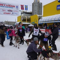 Man takes off to Alaska to join the Iditarod Dog Sled Race for the 8th time