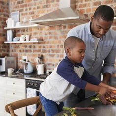 Parents dish on ways to get kids involved in the kitchen