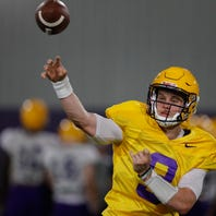Orgeron: 'With four guys, nobody knew what was going on or who was going to start'