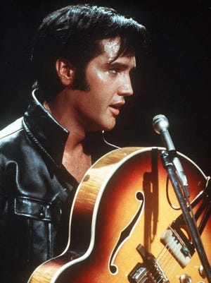 """Elvis Presley had three No. 1 records in 1957:  """"All Shook Up"""", """"Teddy Bear"""" and """"Jailhouse Rock."""""""