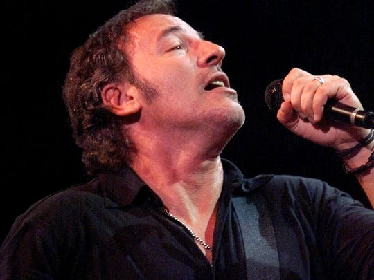 Bruce Springsteen performs in 1999 in his home state