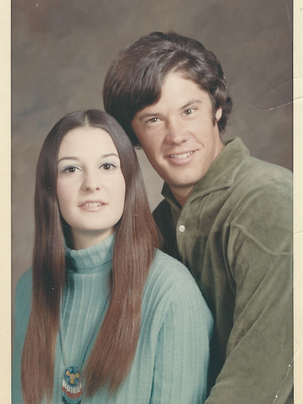Sharon Hensley is pictured with her brother, Frank,
