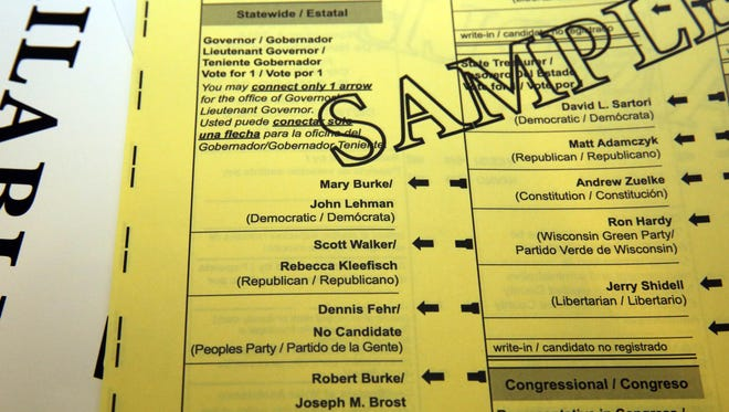 Thirty-one absentee ballots missing the name of Assembly candidate Joe Huftel got to voters in northern Wisconsin.