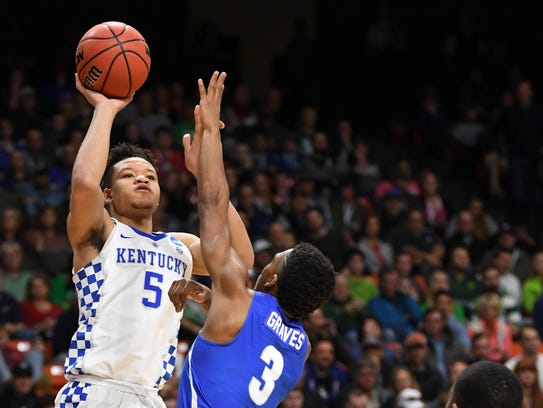 Kevin Knox (No. 13 in USA TODAY Sports' mock draft)