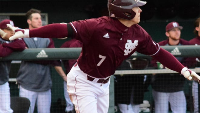Mississippi State outfielder Jacob Robson