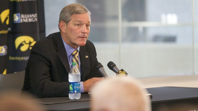 Iowa football coach Kirk Ferentz has lots of questions that remain unanswered