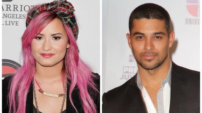 Demi Lovato and Wilmer Valderrama swapped sweet messages on Twitter Thursday.