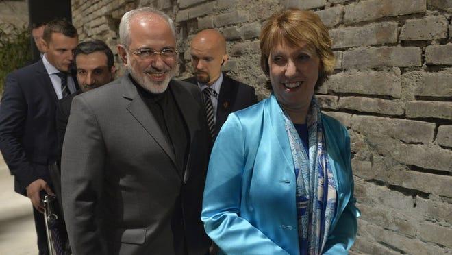 European Union and Iranian negotiators on Friday.