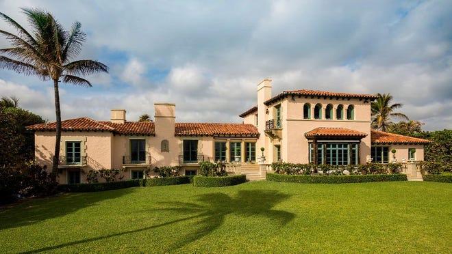 Ivana Trump's Concha Marina estate in Palm Beach.